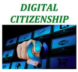 Digital Citizenship & Safety Worksheets (syllabus included)- bundle
