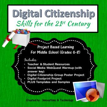 Digital Citizenship And Social >> Digital Citizenship Social Media By Innovations In Technology Tpt