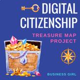 Digital Citizenship Treasure Map Project