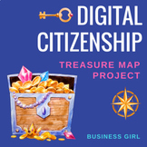 Digital Citizenship Treasure Map Project