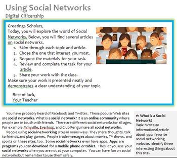 Digital Citizenship: Understanding Social Media