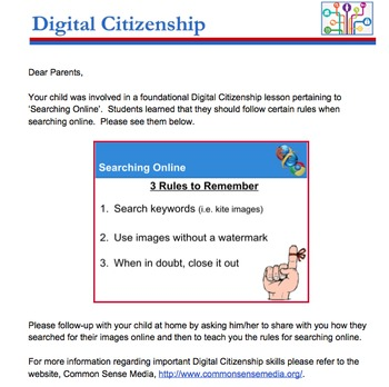 Digital Citizenship Unit - PK-2nd Grade - CommonSense Media Approved