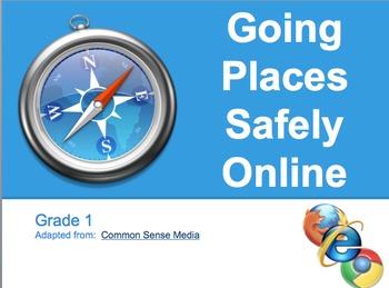 Digital Citizenship Unit - PK-2nd Grade - CommonSense Media Approved
