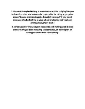 Digital Citizenship WebQuest