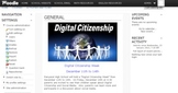 Digital Citizenship Week Moodle Course