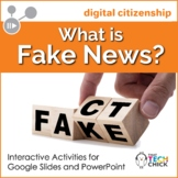 Digital Citizenship - What is Fake News? | Distance Learning