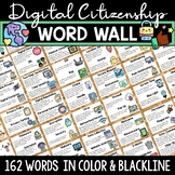 Digital Citizenship Posters, Word Wall & Bulletin Board Se