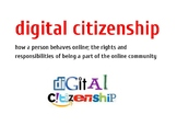 Digital Citizenship Word Wall Vocabulary Cards