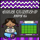 Digital Citizenship and Internet Safety Jeopardy