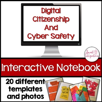 DIGITAL CITIZENSHIP AND ONLINE SAFETY - Interactive Notebook