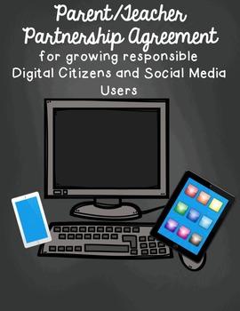 Digital Citizenship and Social Media Parent/Teacher Agreement