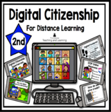Digital Citizenship for Distance Learning 2nd Grade