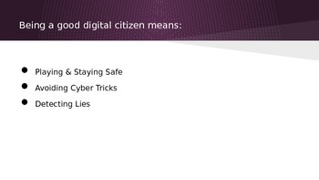 Digital Citizenship for Students