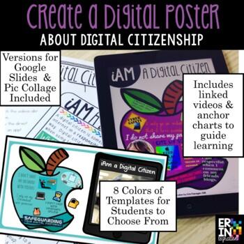 Digital Citizenship iPad Poster Project