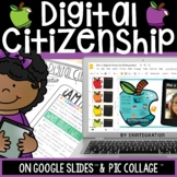Digital Citizenship iPad Poster Project