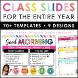 Digital Class Google Slides | Assignment Slides | Digital
