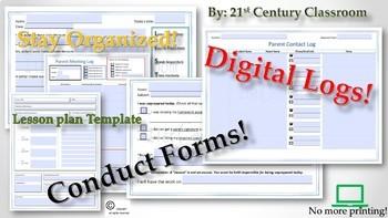 Digital Class Management Forms
