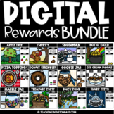 Digital Class Rewards (for PowerPoint or Google Classroom Management)