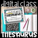 Digital Class Thesaurus