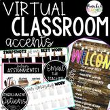 Google Sites Virtual Classroom Digital Accents/Activities