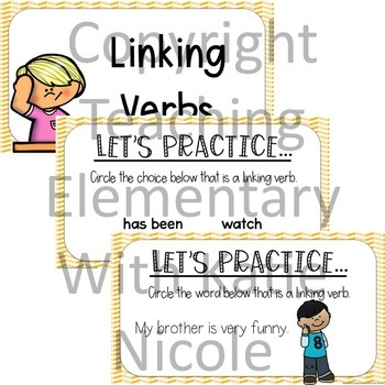 Digital Classroom: Action Verbs and Linking Verbs