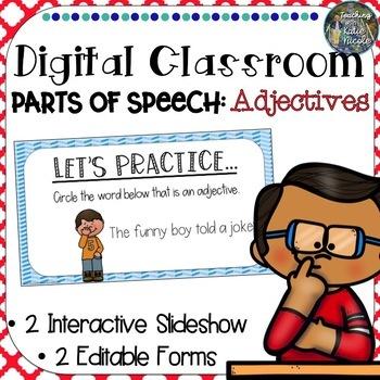 Digital Classroom: Adjectives, Comparative and Superlative Adjectives