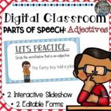 Digital Classroom: Adjectives, Comparative and Superlative