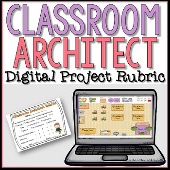 Digital Classroom Architect Rubric {FREEBIE}