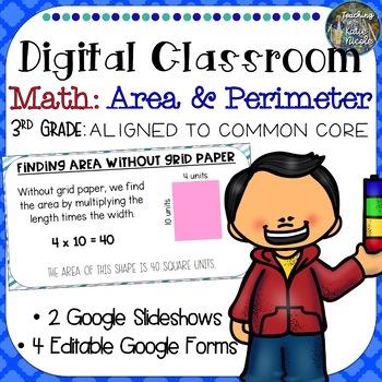 Digital Classroom: Area and Perimeter