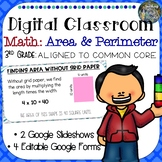 Digital Classroom: Area and Perimeter