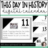 Digital Classroom Calendar   This Day in History
