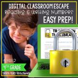 Place Value Google Classroom Math Digital Escape Room 4.NBT.2 4th Grade