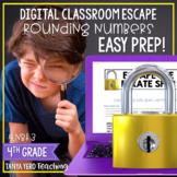Google Classroom Math Digital Escape Room 4.NBT.3 Rounding