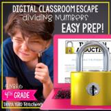 Google Classroom Math Digital Escape Room 4.NBT.6 Division