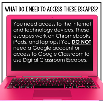 Digital Classroom Escape Math Digital Escape Room 4.OA.3 4th Grade