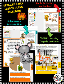 Fables Digital Classroom: The Lion and the Mouse RL3.2 RL3.3 RL3.6 RL4.2 RL4.3
