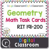 Digital Classroom Geometry Interventions or Math Test Prep