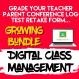 Digital Classroom Management Google Forms