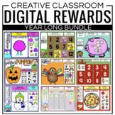 Digital Classroom Management Rewards BUNDLE