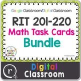 Standardized Test Prep Math Bundle Maps RIT Band 201-220 G