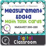 NWEA MAP Test Prep Math Measurement RIT Band 200-220 Google Slides Paperless