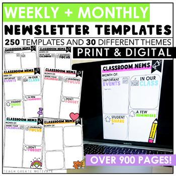 Digital Classroom Newsletters