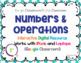 NWEA MAP Prep Math Operations RIT Band 200-220 Google Slides Paperless