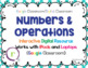 Standardized Maps Test Prep Math Operations RIT Band 200-220 Google Slides