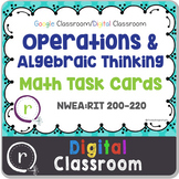Digital Classroom Operations & Algebra Math Test Prep RIT