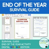 Digital Classroom Survival Guide- End of the Year Activity