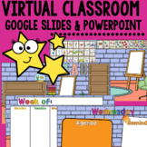 Digital Classroom with Weekly and Daily Agenda Google Slid
