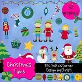 Digital Clip Art: Christmas Time