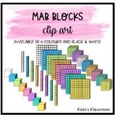 Digital Clip Art MAB - Base Ten Blocks