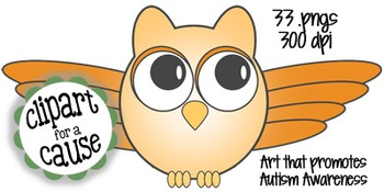 Digital Clip Art: Whooo Loves Owls? - 8 Colors & Black Line Graphics - 33 pc set